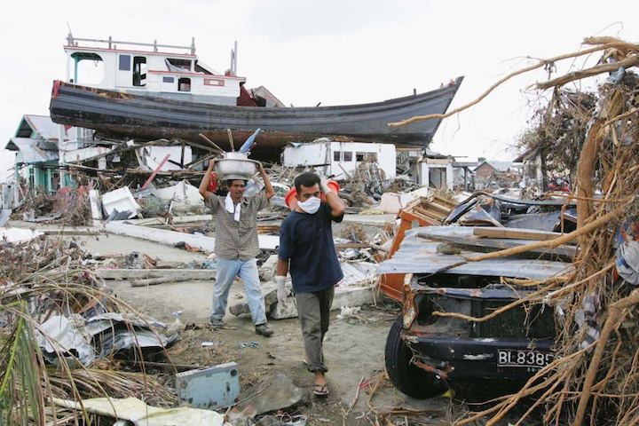 Цунами Индия 2004 - Добро пожаловать в туристический ад