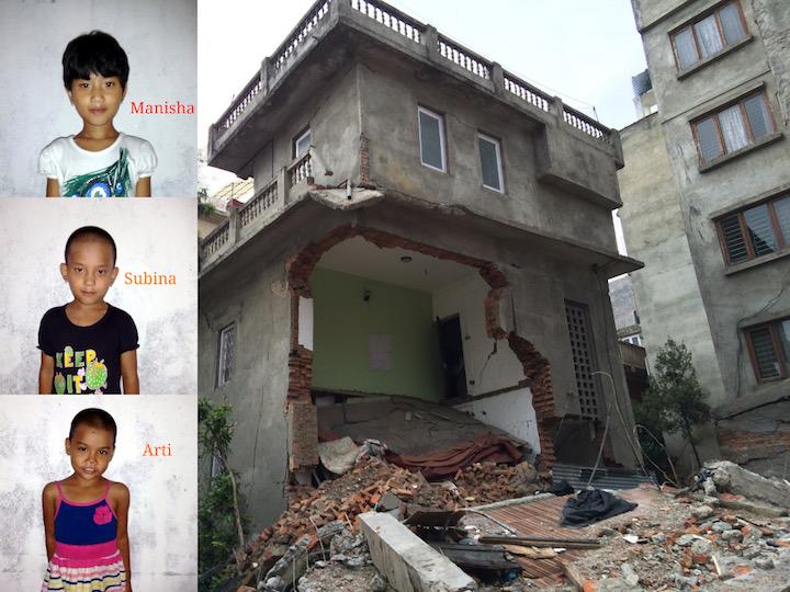 Землетрясение в Непале - Последний подарок папы